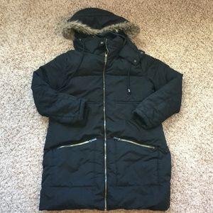 Maternity size XS heavy winter coat.